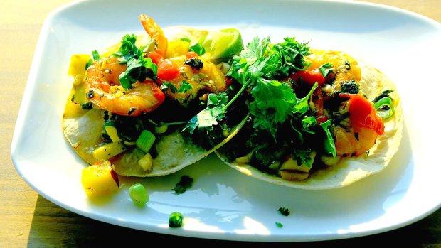 Krevetové tacos