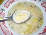 Koprová polévka se sójou recept