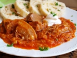 Segedínsky guláš II. recept
