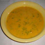 Jemná dýňová polévka se smetanou recept