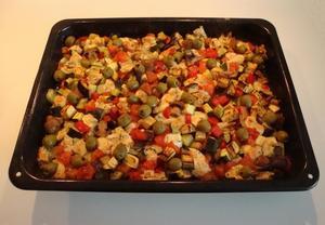 Pečená zelenina  výborná