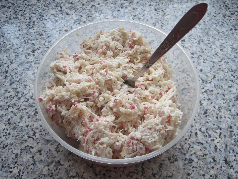 Pomazánka z krabích tyčinek s celerem recept