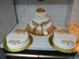 Svatební dorty pro Toníka a Lucku recept