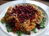 Quinoa s granátovým jablkem recept