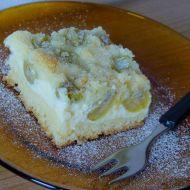 Angreštový koláč s tvarohem recept