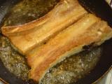 Zatloukané plátky smaženého vepřového boku recept