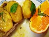 Balíček s vepřovým, cibulí a pomerančovou zálivkou recept ...