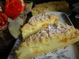 Smetanový sypaný koláč recept