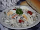 Salát ze zavináčů recept
