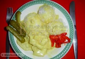 Kuře na curry s ananasem