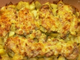 Kuřecí maso se sýrem v římském hrnci recept