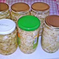 Kvašené zelí do sklenic recept
