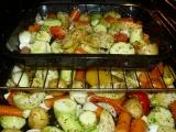 Pečená zelenina s černuchou recept