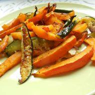 Zeleninová příloha z dýně a cukety recept