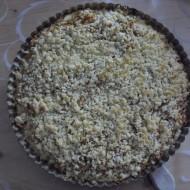 Vláčný drobenkový jablkový koláč recept