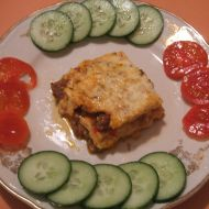 Masové lasagne se zeleninou recept