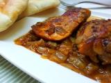 Kuře v pikantní pivní cibuli recept