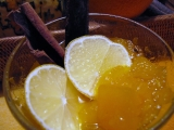 Dýňovocitrusový kompot recept