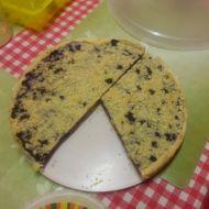 Výborný borůvkový koláč s drobenkou recept