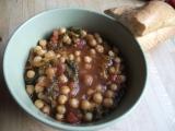 Cizrna s kapustou recept