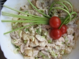 Kuřecí salát s ananasem recept