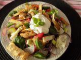 Zeleninový salát s teplým krůtím masem recept