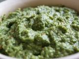 Špenátovo-cuketové pesto recept