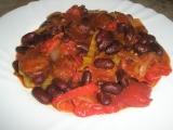 Klobása s fazolí recept