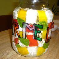 Nakládaný hermelín s paprikou recept