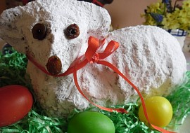 Velikonoční beránek ( hrnkový ) recept