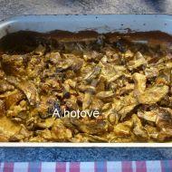 Houbový pekáček recept