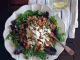 Podzimní quinoa s dýní, tempehem a cizrnou recept