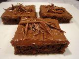 Kefírové čokoládové řezy recept