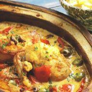 Kuře se zeleninou a těstovinami recept