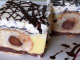 Pudinkový koláč z croissantů recept