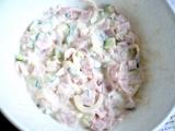 Rumcajs salát recept