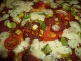 Pizza se salámem a sýrem recept