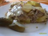 Zapékané brambory s mletým masem recept