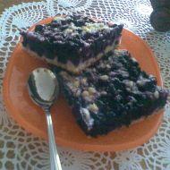 Babiččin borůvkový koláč s drobenkou recept