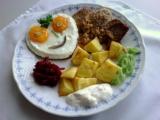 Vepřové plátečky s vejcem recept