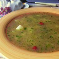 Pikantní česneková polévka recept