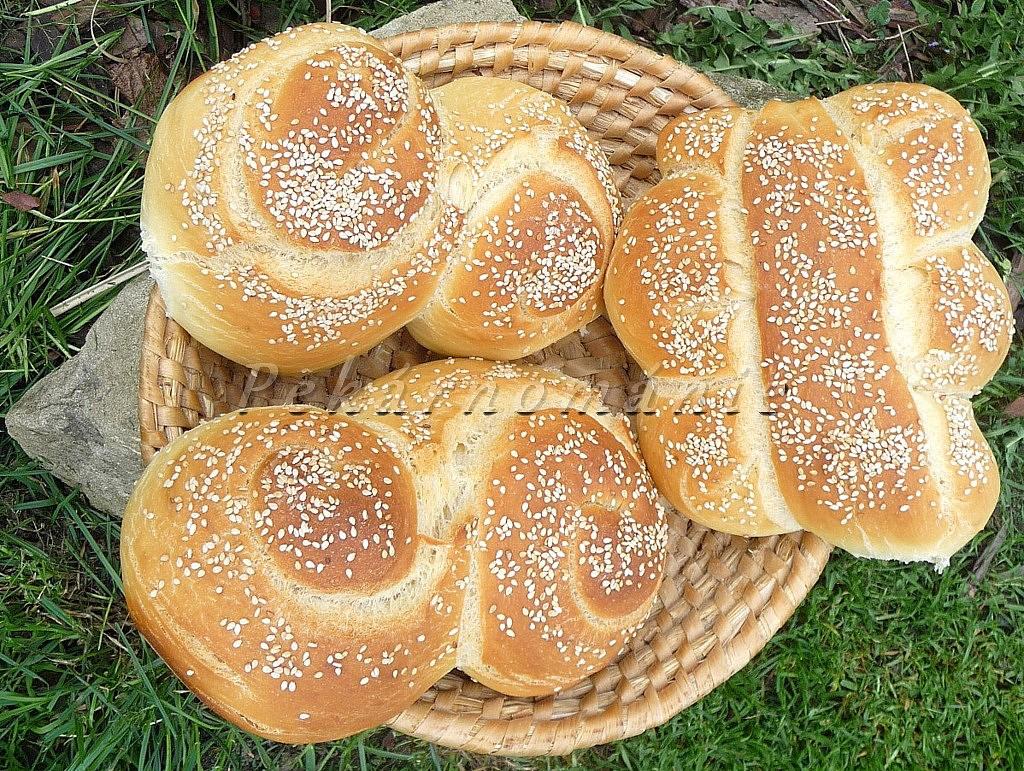 Pane siciliano (chléb ze Sicilie) recept