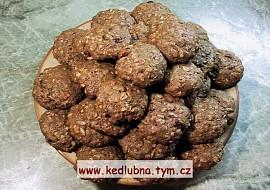 Vločkové sušenky  zdravé mlsání recept