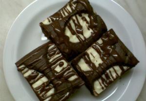 Kakaový koláč s tvarohem