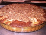 Jablečný koláč s mandlovou drobenkou recept