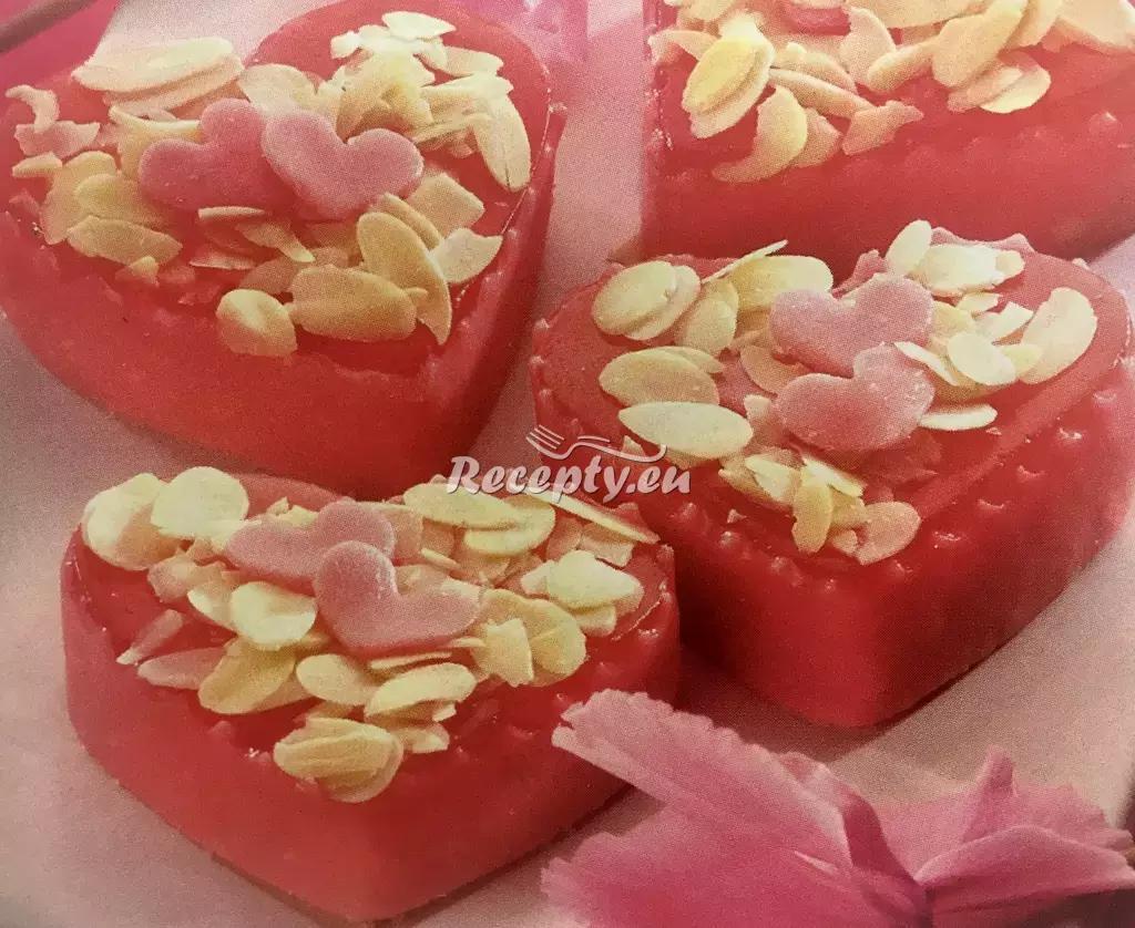 Valentýnská srdíčka recept  slavnostní pokrmy