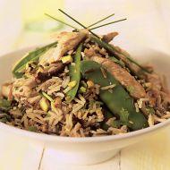 Rýžový salát s krůtím masem recept
