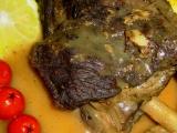 Jelení žebra na jalovci pečená recept