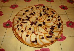 Jablkový koláč z Normandie