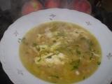Pórková polévka s cizrnou recept